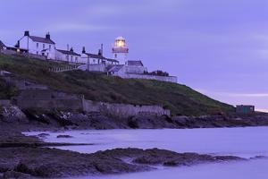 Roches Point Lighthouse, Whitegate Village, County Cork, Munster, Republic of Ireland, Europe by Richard Cummins