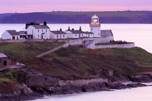 Roches Point Lighthouse, Whitegate Village, County Cork, Munster, Republic of Ireland, Europe by Richard Cummins