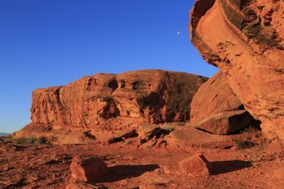 Rock formations in Pioneer Park, St. George, Utah, United States of America, North America by Richard Cummins