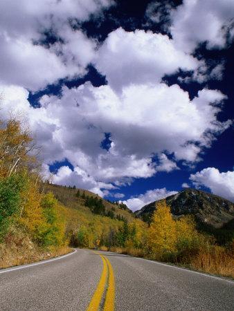 Scenic Highway 82, Aspen, Colorado, USA