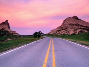 Scotts Bluff National Monument, United States of America by Richard Cummins
