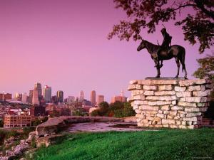 Scout Sculpture at Penn Park, Kansas City, Missouri by Richard Cummins