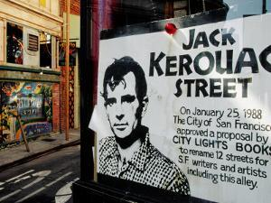 Sign, Jack Kerouac Street, North Beach District, San Francisco, United States of America by Richard Cummins