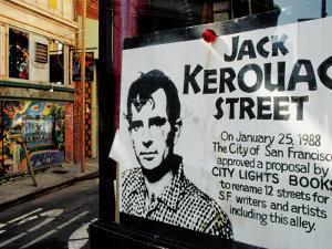 Sign, Jack Kerouac Street, North Beach District, San Francisco, United States of America by Richard Cummins