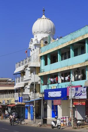 Sikh Temple in Port Blair, Andaman Islands, India, Asia by Richard Cummins
