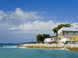Speightstown Waterfront, St. Peter's Parish, Barbados, West Indies, Caribbean, Central America by Richard Cummins
