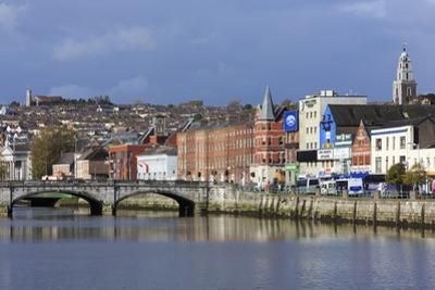 St. Patrick's Quay on the River Lee, Cork City, County Cork, Munster, Republic of Ireland, Europe by Richard Cummins