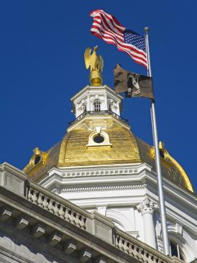 State Capitol Dome, Concord, New Hampshire, New England, United States of America, North America by Richard Cummins