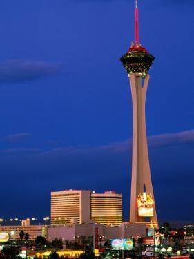 Stratosphere Tower, Las Vegas, Nevada by Richard Cummins