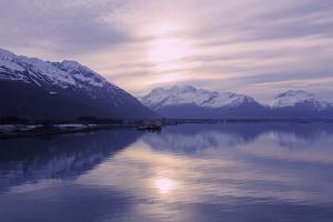 Sunrise, Valdez, Prince William Sound, Alaska, USA by Richard Cummins