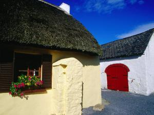 Thatched Pub on Dunmore Road in County Waterford, Munster, Ireland by Richard Cummins