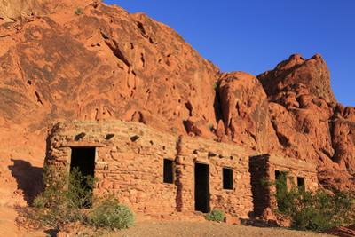 The Cabins, Valley of Fire State Park, Overton, Nevada, United States of America, North America by Richard Cummins