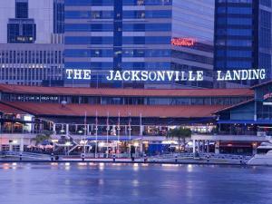 The Jacksonville Landing, Jacksonville, Florida, United States of America, North America by Richard Cummins