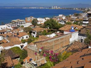 Tiled Roofs, Puerto Vallarta, Jalisco State, Mexico, North America by Richard Cummins