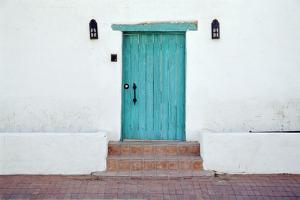 Turquoise Door by Richard Cummins