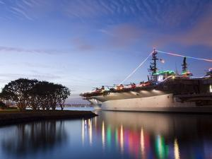 USS Midway Aircraft Carrier Museum, San Diego, California, United States of America, North America by Richard Cummins