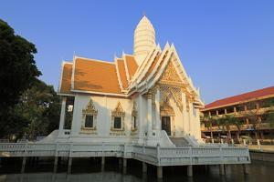 Wat Chamongkron Royal Monastery, Pattaya City, Thailand, Southeast Asia, Asia by Richard Cummins