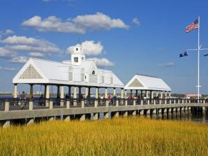 Waterfront Park Pier, Charleston, South Carolina, United States of America, North America by Richard Cummins
