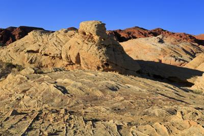 White Domes area, Valley of Fire State Park, Overton, Nevada, United States of America, North Ameri by Richard Cummins