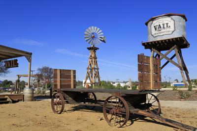 Windmill, Vail Headquarters Heritage Park, Temecula, California, United States of America, North Am by Richard Cummins
