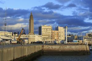 Yacht Marina in Le Havre, Normandy, France, Europe by Richard Cummins