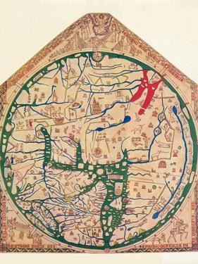 The Hereford Mappa Mundi, (C128), 1912 by Richard de Bello