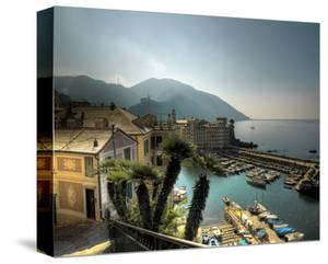 Camogli Harbour by Richard Desmarais