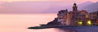 Camogli Ocean Front by Richard Desmarais