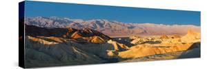 Zabriskie Point, Death Valley, Panoramic Duo I by Richard Desmarais