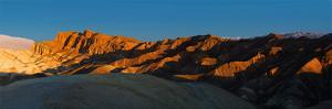 Zabriskie Point, Death Valley, Panoramic Duo II by Richard Desmarais