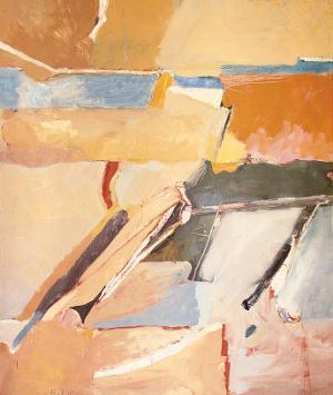Berkeley No. 8 by Richard Diebenkorn