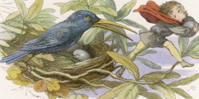 An Elf Steals a Bird's Egg by Richard Doyle