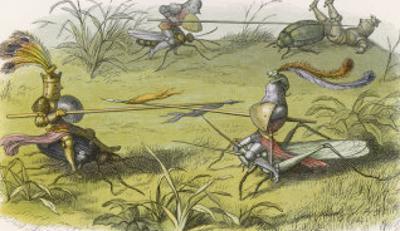 An Elves' Tournament by Richard Doyle