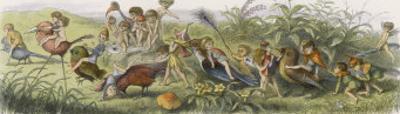 Elves and Their Tricks by Richard Doyle