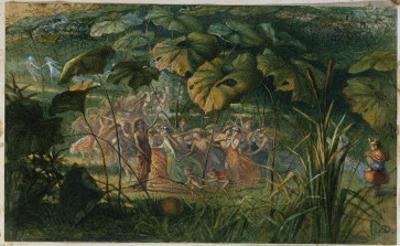 Fairy Dance in a Clearing by Richard Doyle