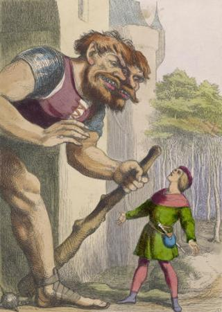 Jack Confronts the Giant by Richard Doyle