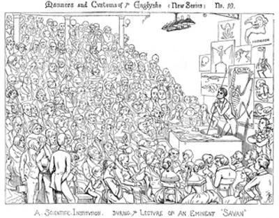 Owen Lecturing by Richard Doyle