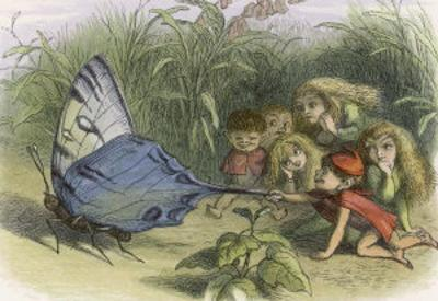 Teasing a Butterfly by Richard Doyle