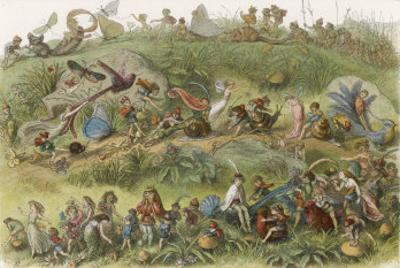 The Elf King's March of Triumph by Richard Doyle