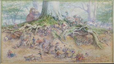 The Fairy Tree (W/C) by Richard Doyle