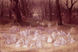 The Haunted Park by Richard Doyle