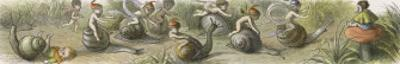 The Swiftest Snails in Fairyland by Richard Doyle