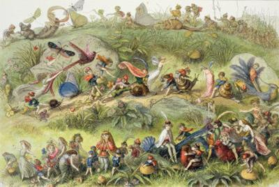 Triumphal March of the Elf-King by Richard Doyle