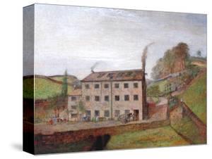 Dean Clough Mill, Bowling Dyke by Richard Drummond