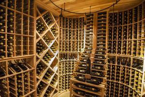 Bottle Cellar at Garrison Creek Cellars, Walla Walla, Washington, USA by Richard Duval