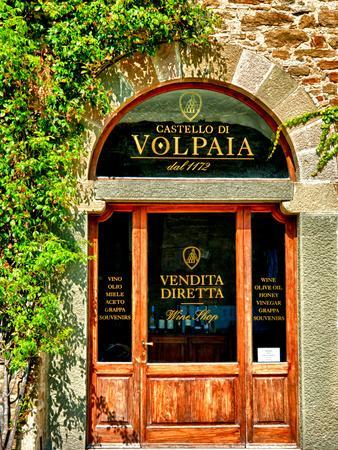 Late Summer in the Tuscan Village of Volpaia, Tuscany, Italy