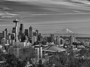 New Year's Day in Seattle, Washington, Usa by Richard Duval