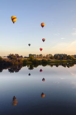 Prosser Balloon Rally Goes Aloft Each Summer, Prosser, Washington, USA by Richard Duval