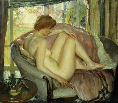 After the Morning Bath by Richard Edward Miller