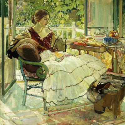 Afternoon Tea by Richard Edward Miller
